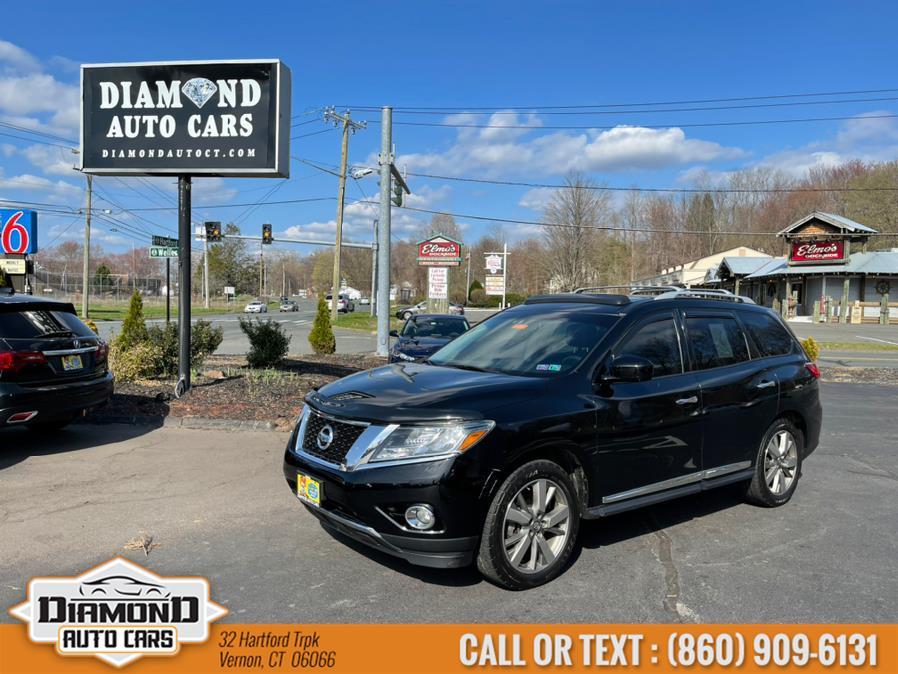 Used 2013 Nissan Pathfinder in Vernon, Connecticut | Diamond Auto Cars LLC. Vernon, Connecticut