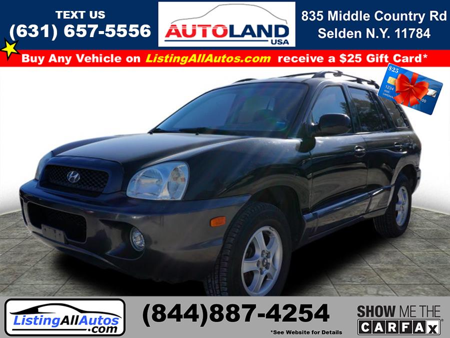 Used Hyundai Santa Fe GLS 2004 | www.ListingAllAutos.com. Patchogue, New York