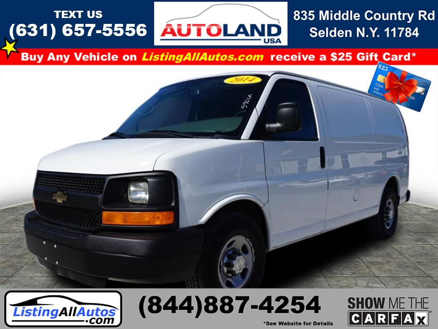 Used 2014 Chevrolet Express Cargo in Patchogue, New York | www.ListingAllAutos.com. Patchogue, New York
