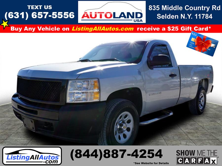 Used 2011 Chevrolet Silverado 1500 in Patchogue, New York | www.ListingAllAutos.com. Patchogue, New York