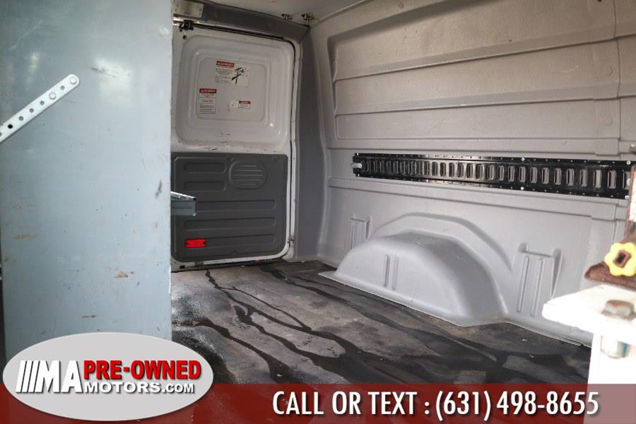 Used Ford Econoline Cargo Van with boom 1530 hurs E-350 Super Duty Commercial 2009   M & A Motors. Huntington, New York