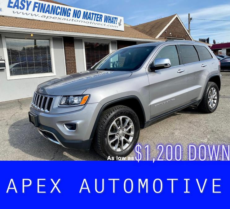 Used Jeep Grand Cherokee 4WD 4dr Limited 2015 | Apex  Automotive. Waterbury, Connecticut