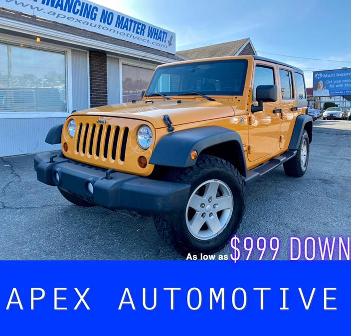 Used Jeep Wrangler Unlimited 4WD 4dr Sport 2012 | Apex  Automotive. Waterbury, Connecticut