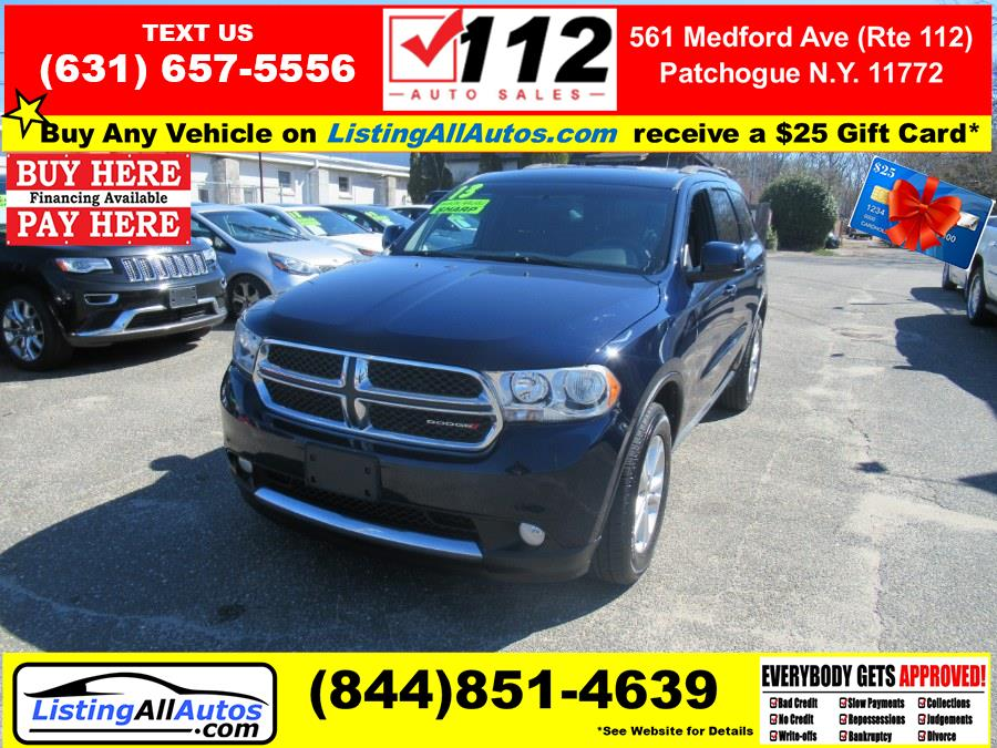 Used 2013 Dodge Durango in Patchogue, New York | www.ListingAllAutos.com. Patchogue, New York