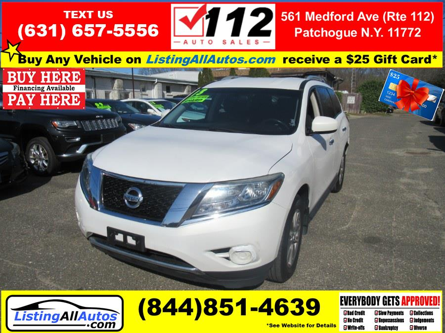 Used Nissan Pathfinder 4WD 4dr SL 2013 | www.ListingAllAutos.com. Patchogue, New York