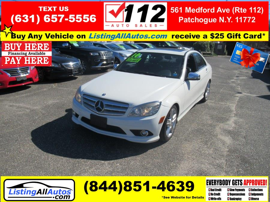 Used Mercedes-Benz C-Class 4dr Sdn C 300 Luxury 4MATIC 2010 | www.ListingAllAutos.com. Patchogue, New York