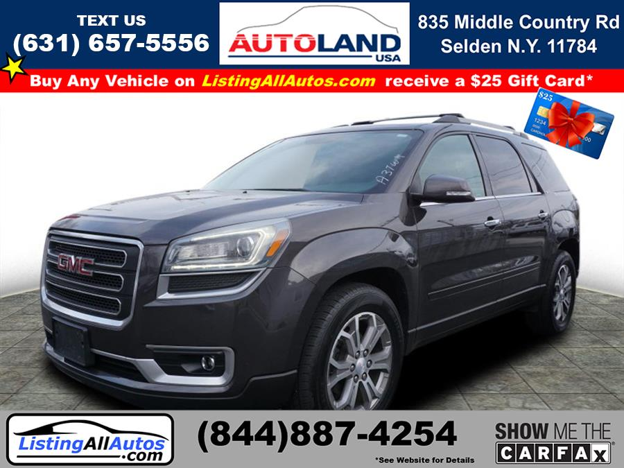 Used 2014 GMC Acadia in Patchogue, New York | www.ListingAllAutos.com. Patchogue, New York