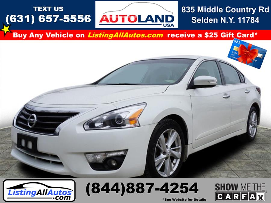 Used 2015 Nissan Altima in Patchogue, New York | www.ListingAllAutos.com. Patchogue, New York