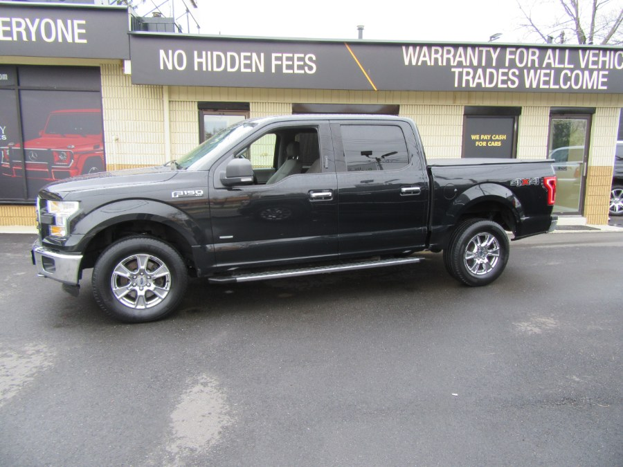 """Used Ford F-150 4WD SuperCrew 145"""" XLT 2015   Royalty Auto Sales. Little Ferry, New Jersey"""