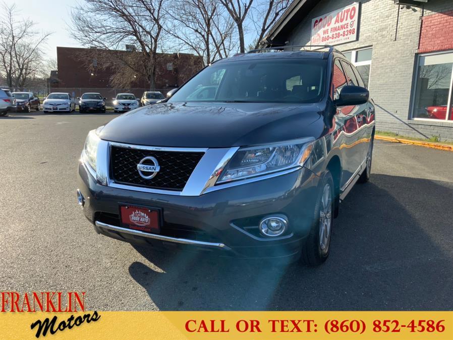Used 2014 Nissan Pathfinder in Hartford, Connecticut | Franklin Motors Auto Sales LLC. Hartford, Connecticut