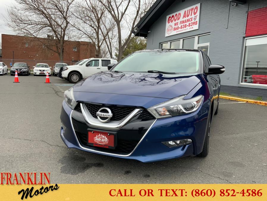 Used 2016 Nissan Maxima in Hartford, Connecticut | Franklin Motors Auto Sales LLC. Hartford, Connecticut