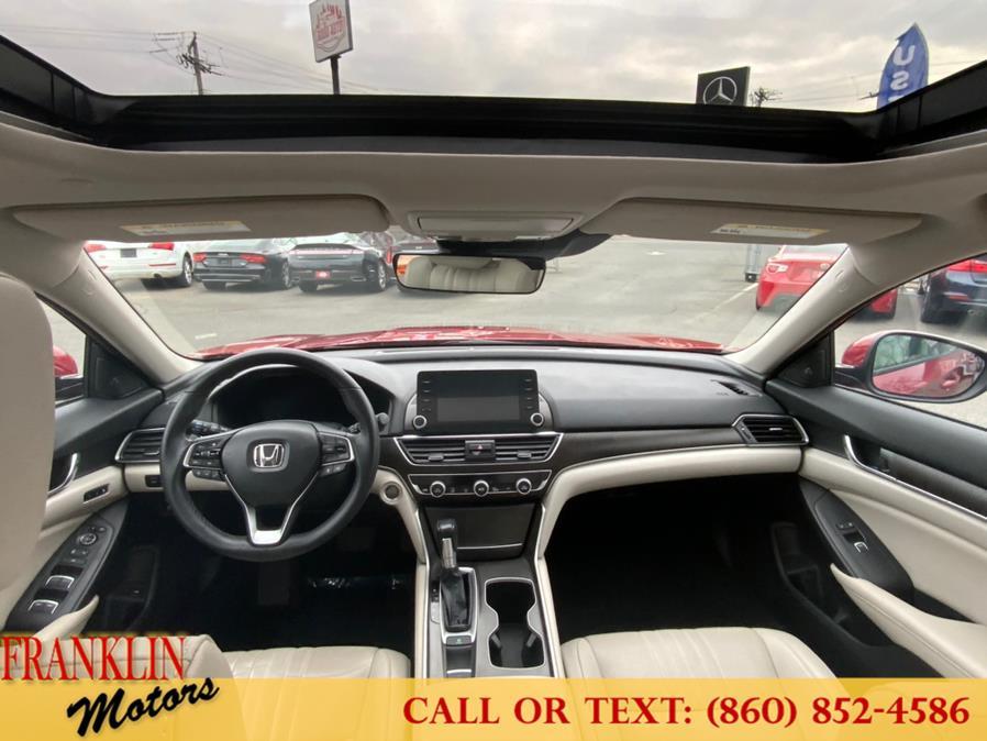 Used Honda Accord Sedan EX-L 1.5T CVT 2019   Franklin Motors Auto Sales LLC. Hartford, Connecticut
