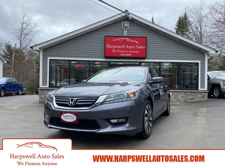 Used Honda Accord Hybrid 4dr Sdn EX-L 2015   Harpswell Auto Sales Inc. Harpswell, Maine