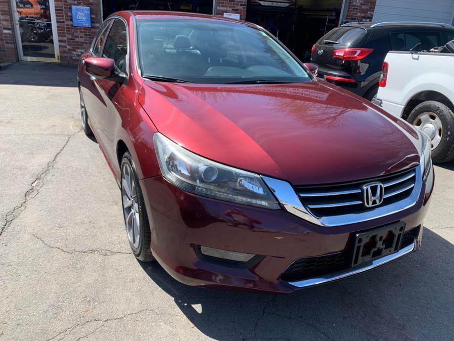 Used Honda Accord Sedan 4dr I4 CVT Sport 2014 | Central Auto Sales & Service. New Britain, Connecticut
