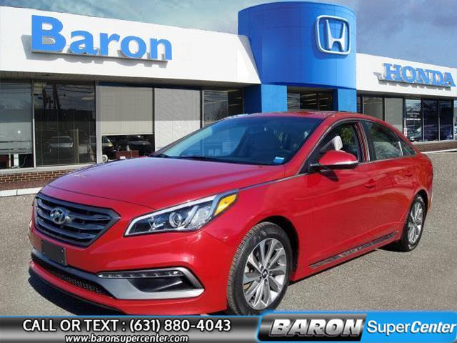 Used 2017 Hyundai Sonata in Patchogue, New York   Baron Supercenter. Patchogue, New York