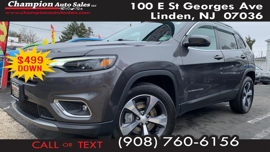 Used 2019 Jeep Cherokee in Linden, New Jersey | Champion Used Auto Sales. Linden, New Jersey