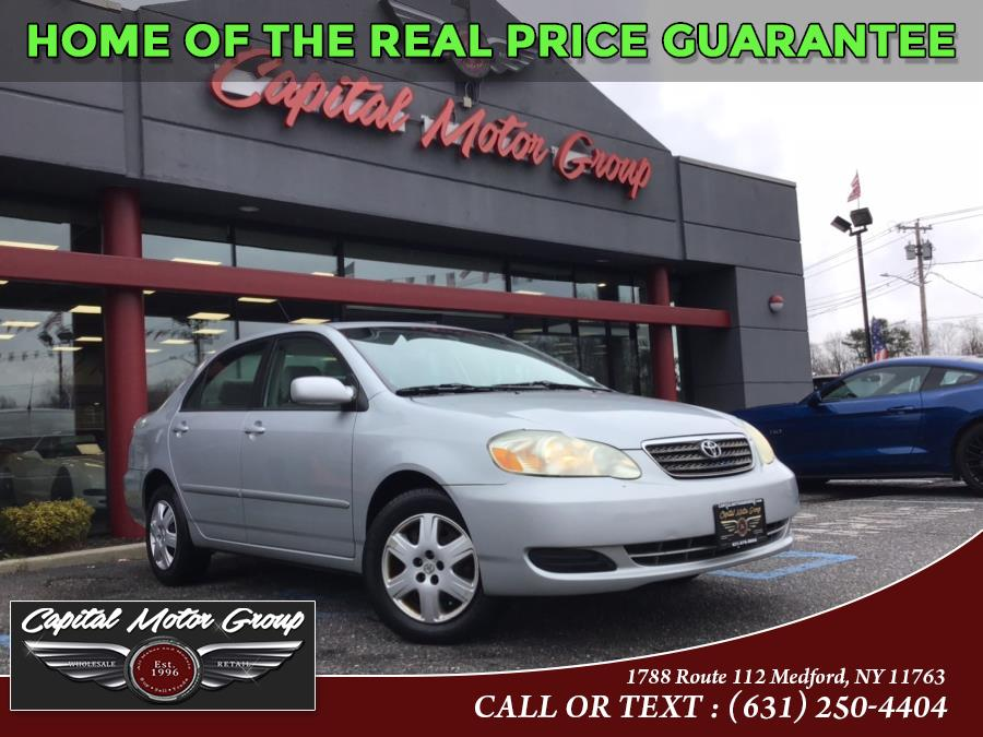 Used Toyota Corolla 4dr Sdn Auto CE 2007 | Capital Motor Group Inc. Medford, New York