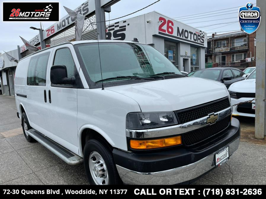 Used 2019 Chevrolet Express Cargo Van in Woodside, New York | 26 Motors Queens. Woodside, New York