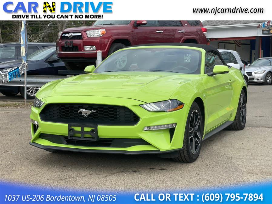 Used Ford Mustang EcoBoost Premium Convertible 2020   Car N Drive. Bordentown, New Jersey
