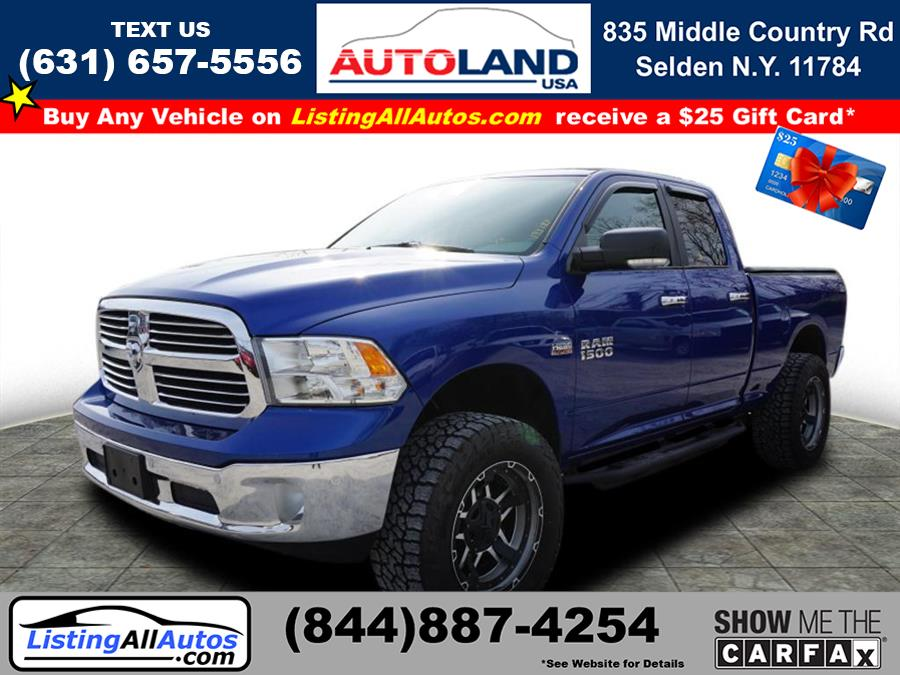 Used 2016 Ram 1500 in Patchogue, New York | www.ListingAllAutos.com. Patchogue, New York