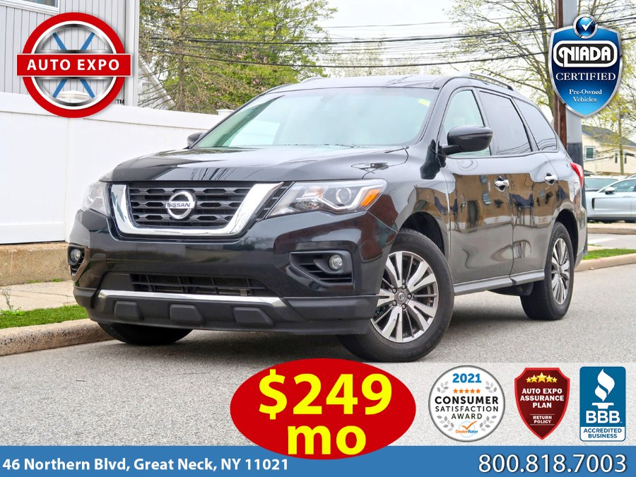 Used 2019 Nissan Pathfinder in Great Neck, New York | Auto Expo Ent Inc.. Great Neck, New York