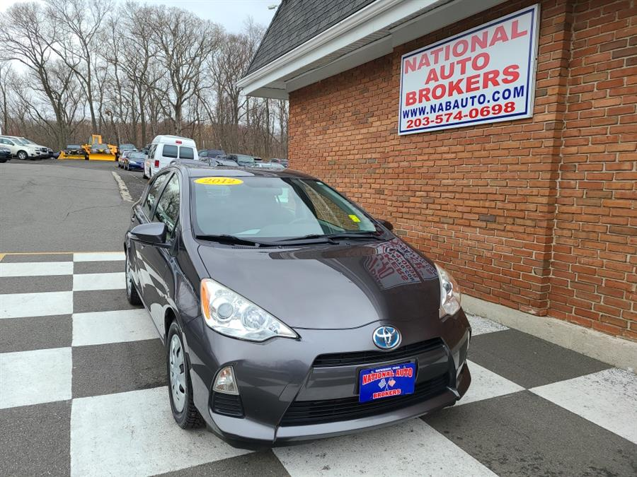 Used Toyota Prius C 5dr HB Three 2012 | National Auto Brokers, Inc.. Waterbury, Connecticut