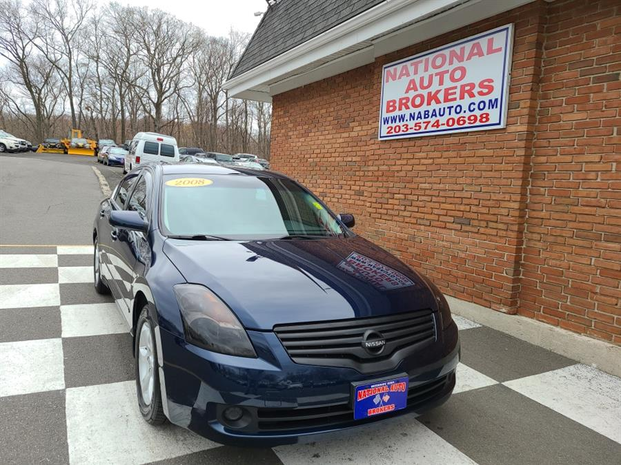 Used Nissan Altima 4dr Sdn 2.5 SL 2008 | National Auto Brokers, Inc.. Waterbury, Connecticut