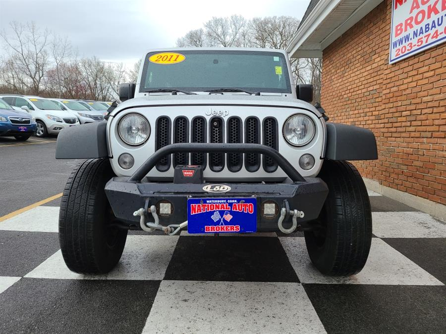 Used Jeep Wrangler Unlimited 4WD 4dr Sport 2011 | National Auto Brokers, Inc.. Waterbury, Connecticut