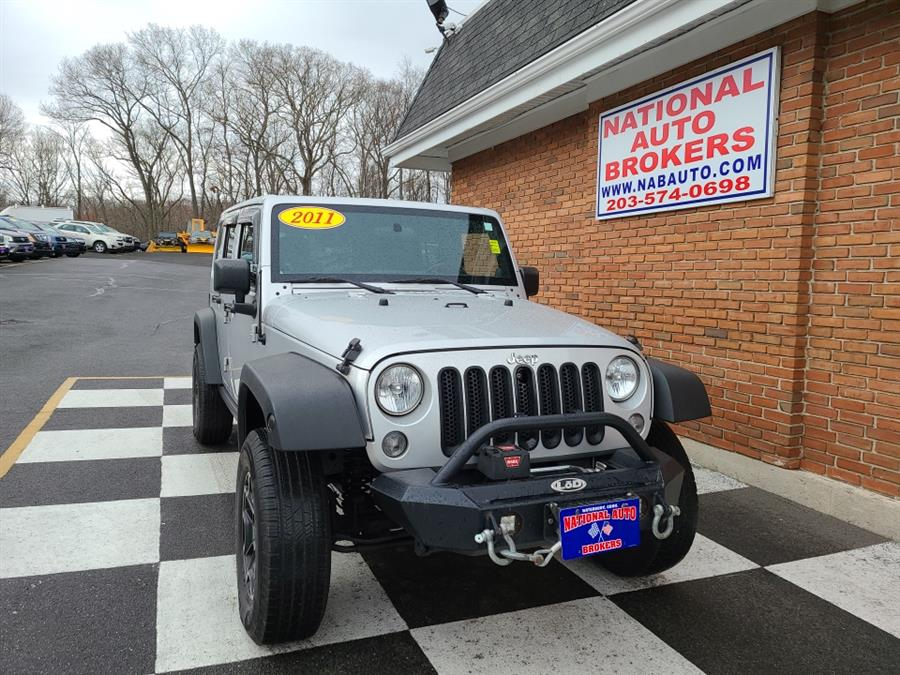 Used 2011 Jeep Wrangler Unlimited in Waterbury, Connecticut | National Auto Brokers, Inc.. Waterbury, Connecticut
