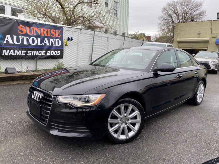 Used 2015 Audi A6 in Jamaica, New York | Sunrise Autoland. Jamaica, New York