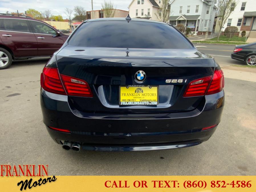 Used BMW 5 Series 4dr Sdn 528i xDrive AWD 2012 | Franklin Motors Auto Sales LLC. Hartford, Connecticut