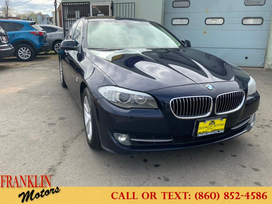 Used 2012 BMW 5 Series in Hartford, Connecticut | Franklin Motors Auto Sales LLC. Hartford, Connecticut