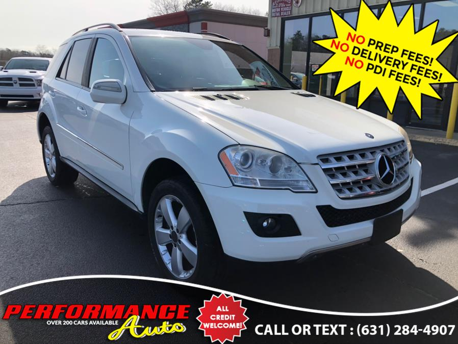Used Mercedes-Benz M-Class 4MATIC 4dr 3.5L 2009 | Performance Auto Inc. Bohemia, New York