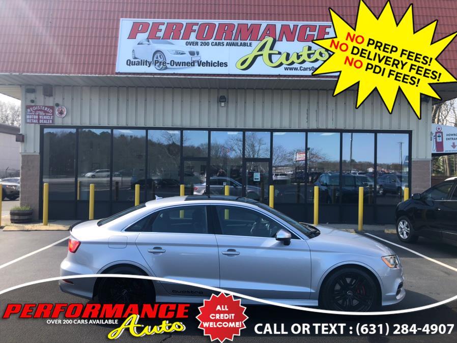 Used Audi S3 4dr Sdn quattro Premium Plus 2016 | Performance Auto Inc. Bohemia, New York