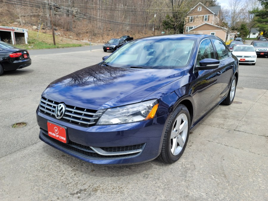 Used Volkswagen Passat 4dr Sdn 2.0L DSG TDI SE w/Sunroof & Nav 2013 | House of Cars. Watertown, Connecticut