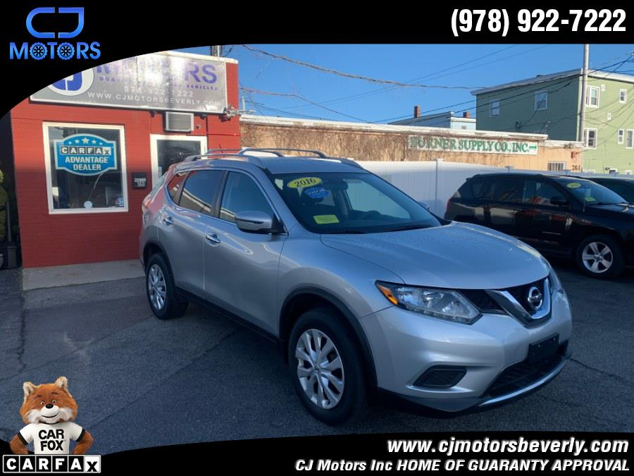 Used 2016 Nissan Rogue in Beverly, Massachusetts | CJ Motors Inc. Beverly, Massachusetts