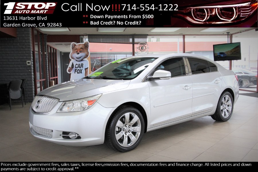 Used 2010 Buick LaCrosse in Garden Grove, California | 1 Stop Auto Mart Inc.. Garden Grove, California
