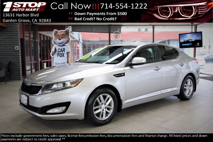 Used Kia Optima 4dr Sdn LX 2013 | 1 Stop Auto Mart Inc.. Garden Grove, California