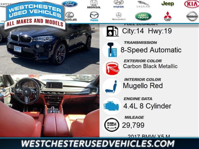 Used BMW X5 m Base 2017   Westchester Used Vehicles. White Plains, New York