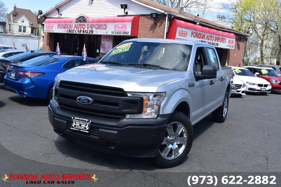 Used 2018 Ford F-150 in Irvington, New Jersey | Foreign Auto Imports. Irvington, New Jersey