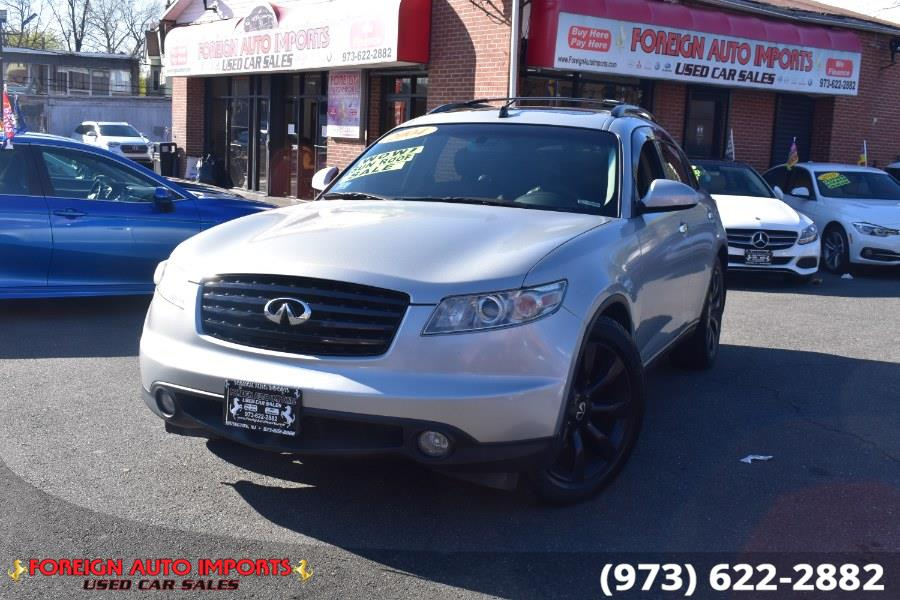 Used 2004 Infiniti FX35 in Irvington, New Jersey | Foreign Auto Imports. Irvington, New Jersey