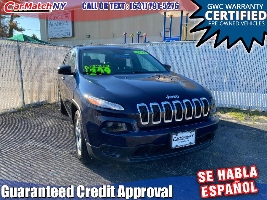 Used 2015 Jeep Cherokee in Bayshore, New York | Carmatch NY. Bayshore, New York