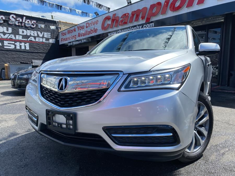 Used 2014 Acura MDX in Bronx, New York | Champion Auto Sales Of The Bronx. Bronx, New York