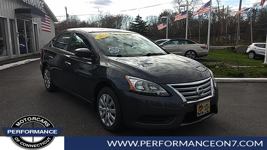 Used 2014 Nissan Sentra in Wilton, Connecticut | Performance Motor Cars. Wilton, Connecticut