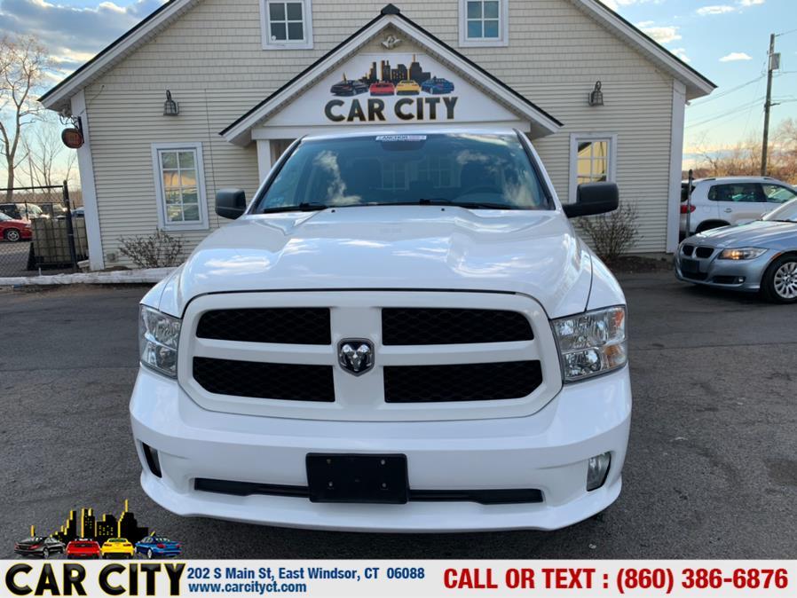 "Used Ram 1500 Express 4x4 Quad Cab 6''4"" Box 2018   Car City LLC. East Windsor, Connecticut"