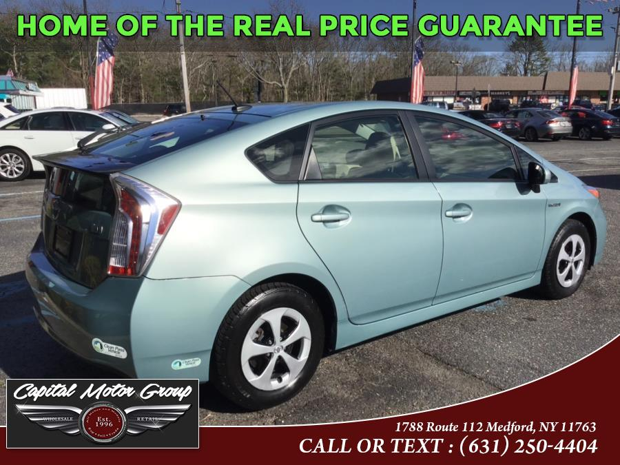 Used Toyota Prius 5dr HB Four (Natl) 2015 | Capital Motor Group Inc. Medford, New York
