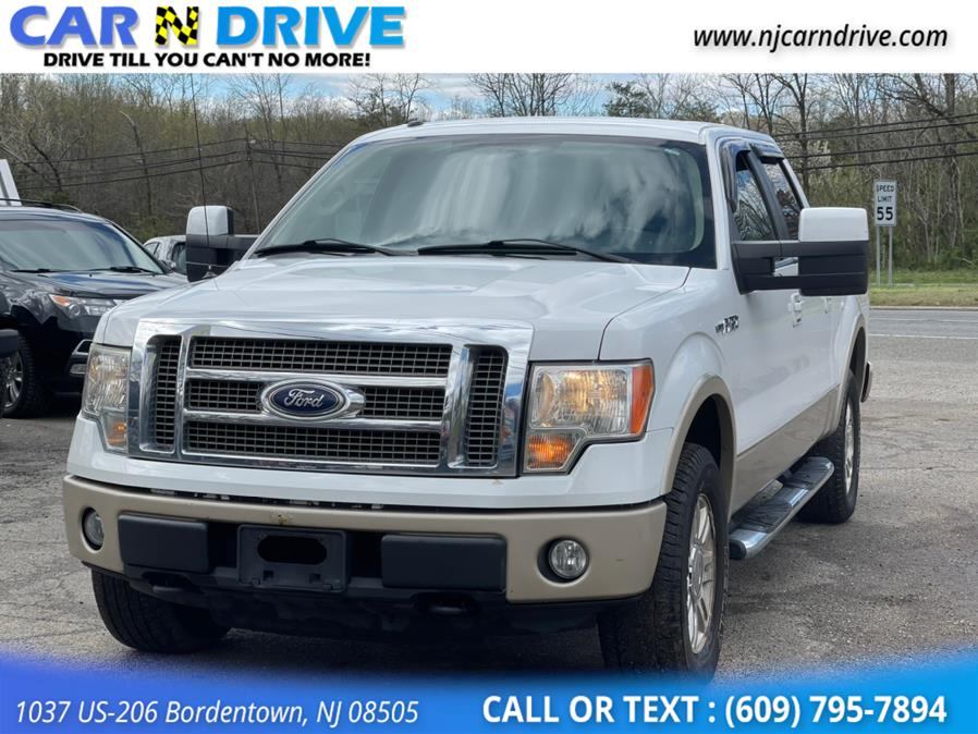 Used Ford F-150 Lariat SuperCrew 5.5-ft. Bed 4WD 2010 | Car N Drive. Bordentown, New Jersey
