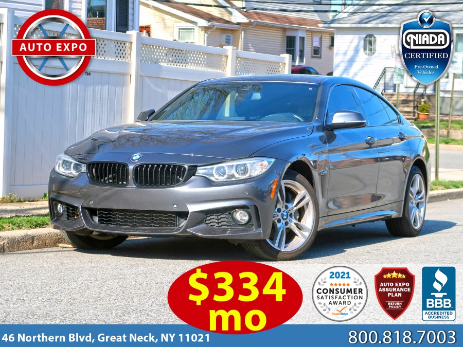 Used BMW 4 Series 440i xDrive Gran Coupe M Sport Package 2017 | Auto Expo Ent Inc.. Great Neck, New York
