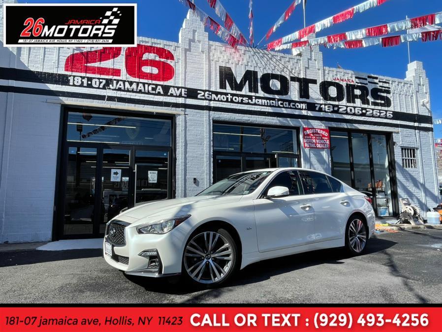 Used 2018 INFINITI Q50 Sport in Hollis, New York | Jamaica 26 Motors. Hollis, New York