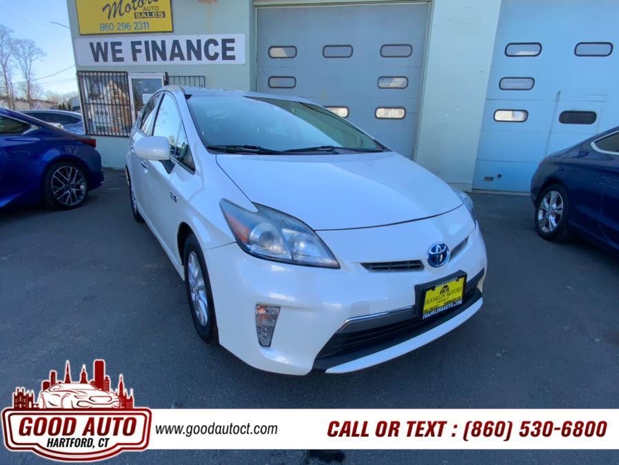 Used Toyota Prius Plug-In 5dr HB Advanced (Natl) 2012   Good Auto LLC. Hartford, Connecticut